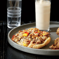 Food & Wine: Candy-Corn-and-Chocolate-Chip Cookies