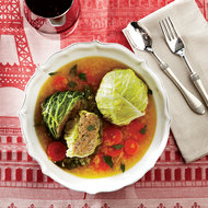 Food & Wine: Meat-Stuffed Cabbage Cakes