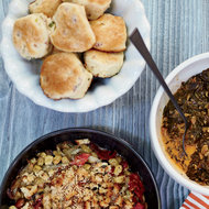 Food & Wine: Bacon-Scallion Biscuits with Sorghum Butter