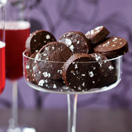 Food & Wine: Chocolate-Cayenne Cocktail Cookies
