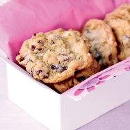 Food & Wine: Dried Cranberry and Chocolate Cookies