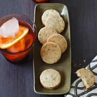 Food & Wine: Rosemary, Almond and Parmesan Cocktail Cookies