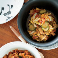 Food & Wine: Almost-Instant Hot Kimchi