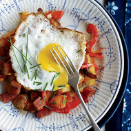 Food & Wine: Corned Beef Hash with Fried Eggs