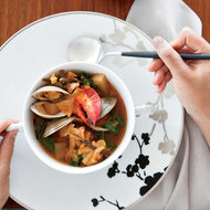 Food & Wine: Lobster, Clam and Kimchi Stew