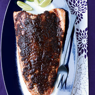 Food & Wine: Slow-Roasted Salmon with Tamarind, Ginger and Chipotle