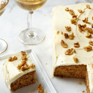 Food & Wine: Carrot Sheet Cake with Cream Cheese Frosting