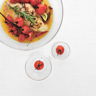 Food & Wine: Honey-Rosemary Chicken with Cherry Tomatoes