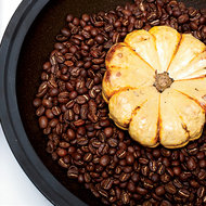 Food & Wine: Coffee-Baked Squash with Crème Fraîche