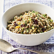 Food & Wine: Farro Salad with Winter Fruit, Pistachios and Ginger