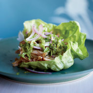 Food & Wine: Latin-Spiced Chicken in Lettuce Cups