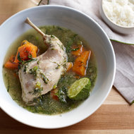 Food & Wine: Green Curry of Rabbit, Butternut Squash and Dill