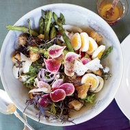 Food & Wine: Spring Panzanella with Asparagus