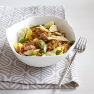 Food & Wine: Turkey Fried Rice with Crushed Potato Chips