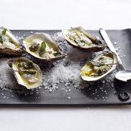 Food & Wine: Grilled Oysters with Spiced Tequila Butter