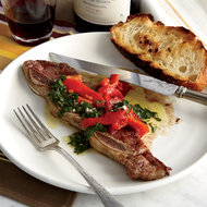 Food & Wine: Grilled Short Ribs with Anchovy Vinaigrette