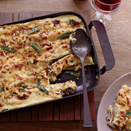 Food & Wine: Cannelloni with Walnuts and Fried Sage