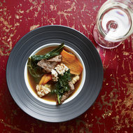 Food & Wine: Pork-and-Kale Soup with Sizzling Puffed Rice
