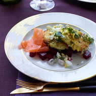 Food & Wine: Potato-Quinoa Cakes with Smoked Salmon and Beets