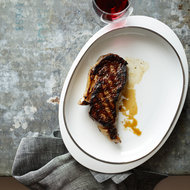 Food & Wine: Quick-Aged Grilled Rib Eyes