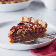 Food & Wine: Pecan Pie with Candied Ginger and Rum