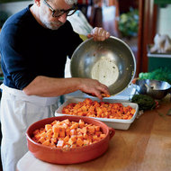 Food & Wine: Roasted Winter Squash with Herbs and Garlic