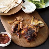 Food & Wine: Slow Roasted Lamb Shoulder with Homemade Harissa