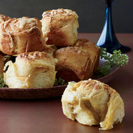 Food & Wine: Parker House Rolls Topped with Cheddar and Old Bay