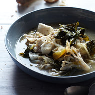 Food & Wine: Fisherman's Stew with Green Chile & Collard Greens