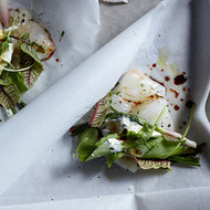 Food & Wine: Spring Halibut Papillotes with Sorrel & Ramps