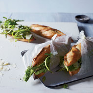 Food & Wine: Asparagus & Aged Goat Cheese Sandwiches