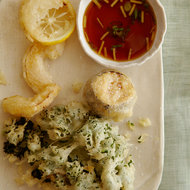 Food & Wine: Airy Tempura with Ginger-Ponzu Dipping Sauce