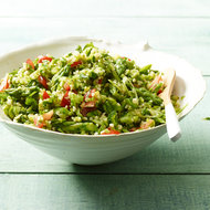 Food & Wine: Asparagus Tabbouleh