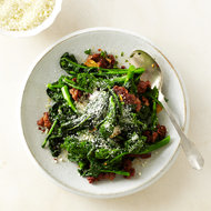 Food & Wine: Broccoli Rabe with Sausage
