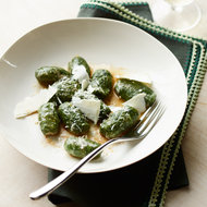 Food & Wine: Spinach Gnocchi with Shaved Ricotta Salata