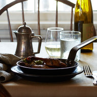 Food & Wine: Leg of a Neighbor's Duck