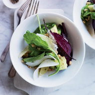 Food & Wine: Beet, Avocado and Arugula Salad