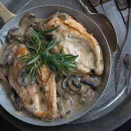 Food & Wine: Chicken and Mushroom Fricassee
