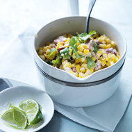 Food & Wine: Creamed Corn with Bacon