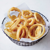 Food & Wine: Crisp and Lacy Onion Rings