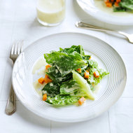 Food & Wine: Escarole with Pickled Butternut Squash