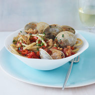 Food & Wine: Bucatini with Clams and Red Peppers