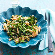 Food & Wine: Cavatelli with Roasted Broccoli Rabe & Harissa