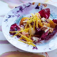 Food & Wine: Double-Beet Salad with Radicchio & Blue Cheese