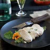 Food & Wine: Poached Chicken Breast with Italian Salsa Verde