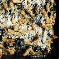 Food & Wine: Creamed Spinach Gluten-Free Mac and Cheese