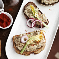 Food & Wine: Creamy Eggplant and White Bean Spread