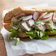 Food & Wine: Leftover Blue Cheese Chicken Salad Sandwich