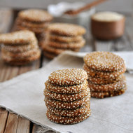 Food & Wine: Honey Tahini Cookies