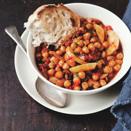 Food & Wine: New Potato, Chickpea and Tomato Stew